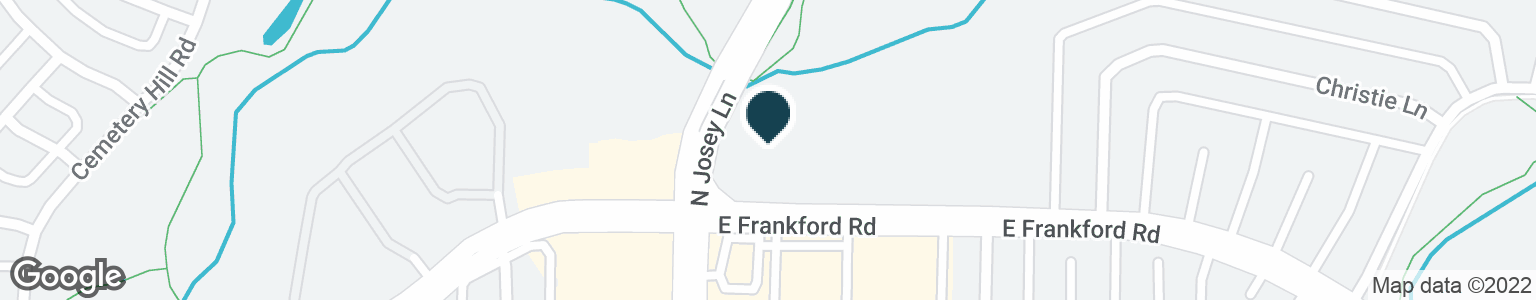 Google Map of1919 E FRANKFORD RD