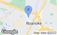 Map of Roanoke, TX