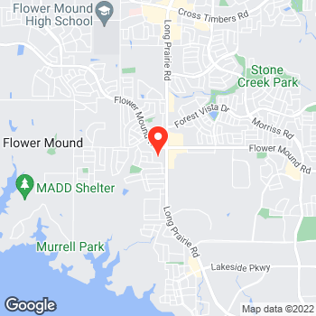Map of Pizza in Flower Mound, TX – Cicis Pizza at 1901 Long Prairie, Flower Mound, TX 75022