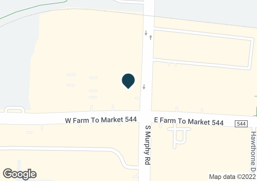 Google Map of103 W FM 544