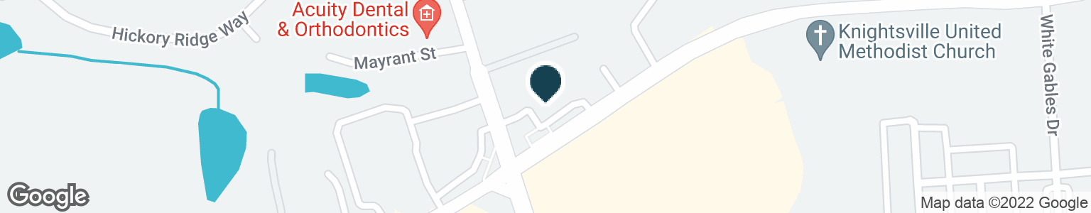 Google Map of1584 CENTRAL AVE