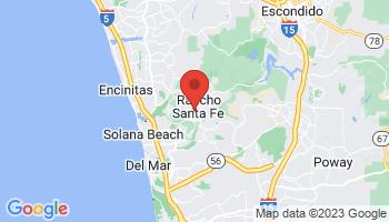 Map of Rancho Santa Fe