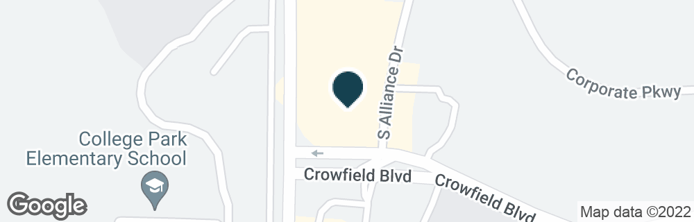 Google Map of1 S ALLIANCE DR