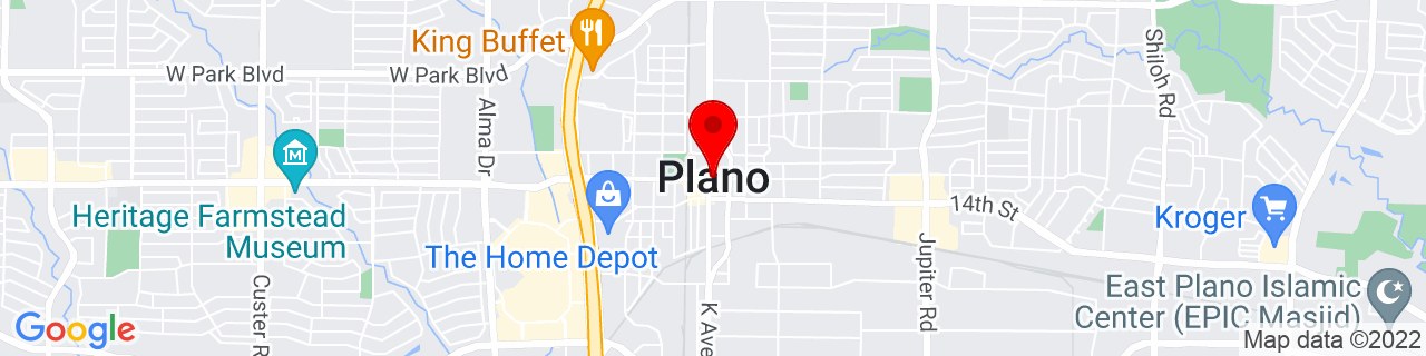Google Map of 33.01972222222222, -96.69888888888889