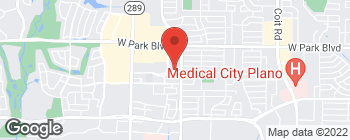 Map of 1800 Preston Park Blvd in Plano