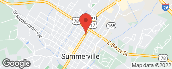 Map of 437 N Main St in Summerville