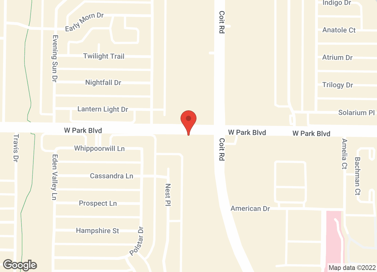 Google Map of VCA Animal Care Hospital