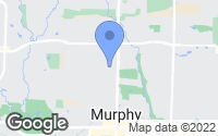 Map of Murphy, TX