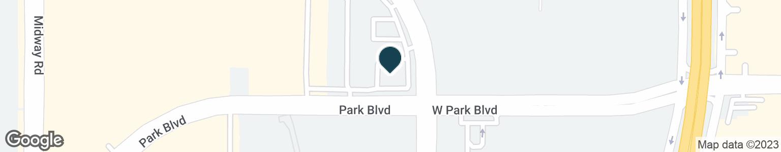 Google Map of6301 W PARK BLVD