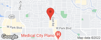 Map of 2321 Coit Rd in Plano