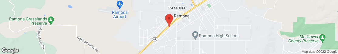 Map of 1946 Main St in Ramona