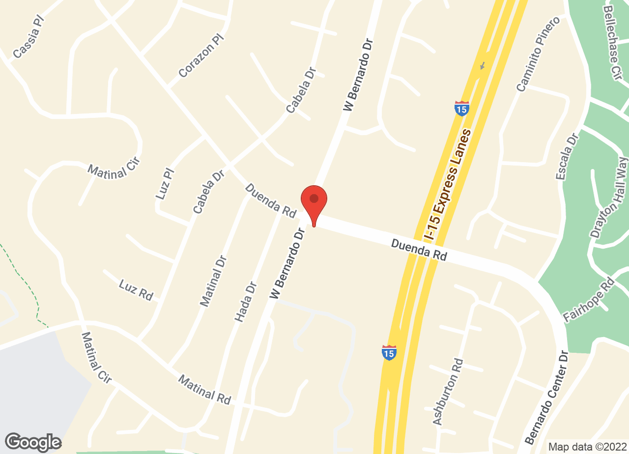 Google Map of VCA West Bernardo Animal Hospital