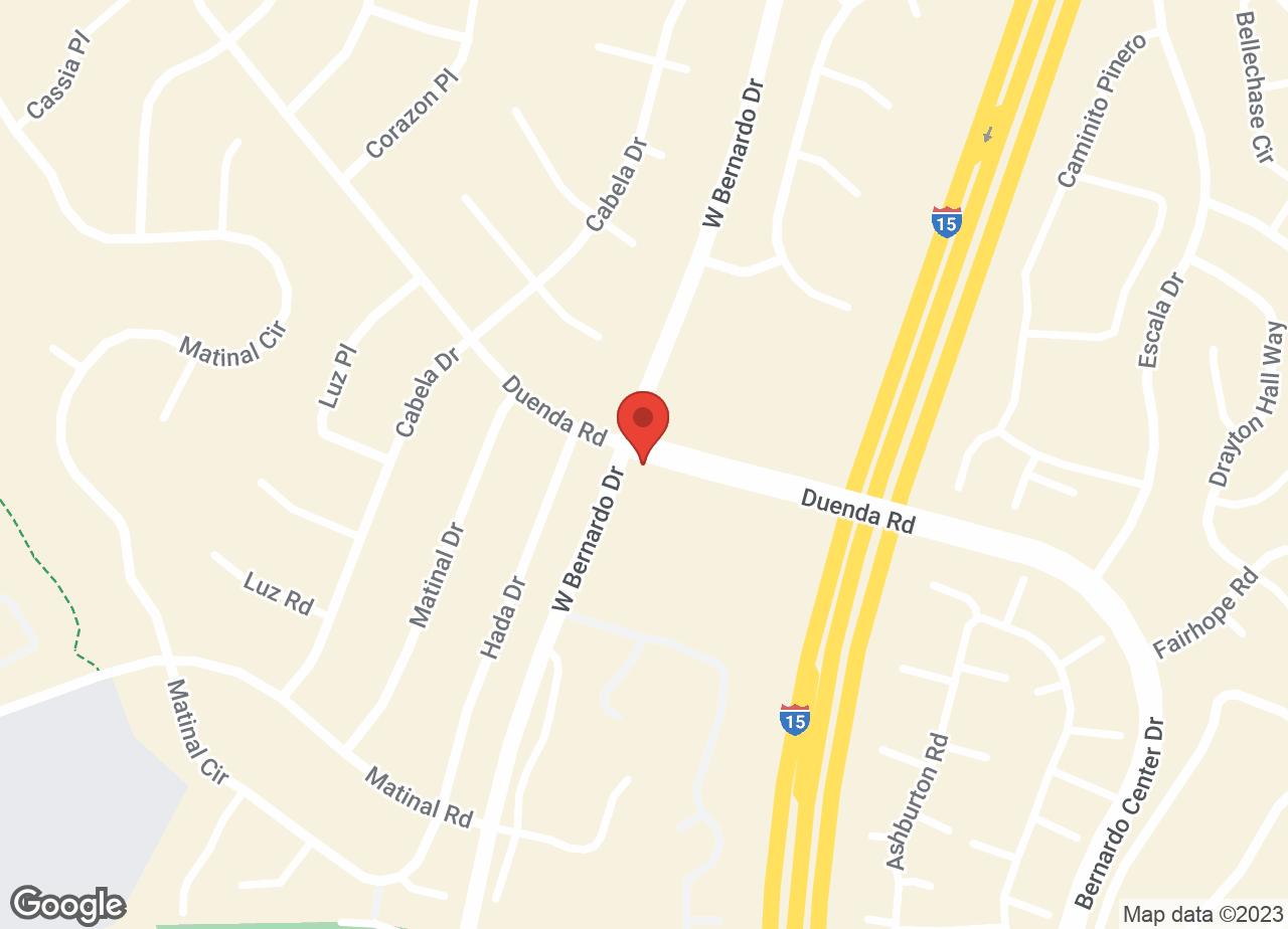 Google Map of VCA West Bernardo Animal Hospital