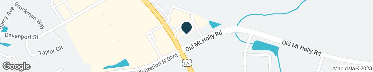 Google Map of600 SAINT JAMES AVENUE