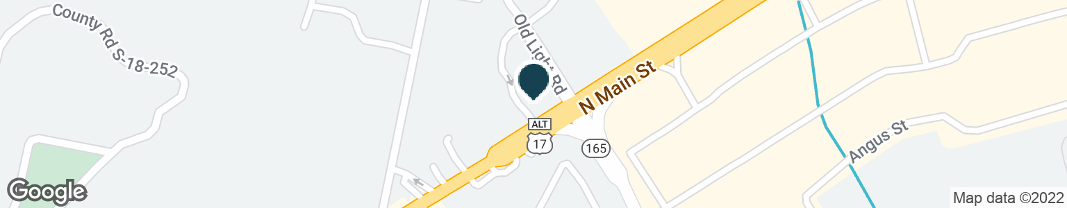 Google Map of1120 N MAIN ST