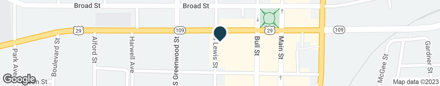 Google Map of115 VERNON ST