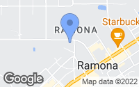 Map of Ramona, CA