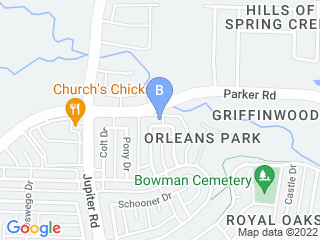 Map of Critter Sitting Services Dog Boarding options in Plano | Boarding