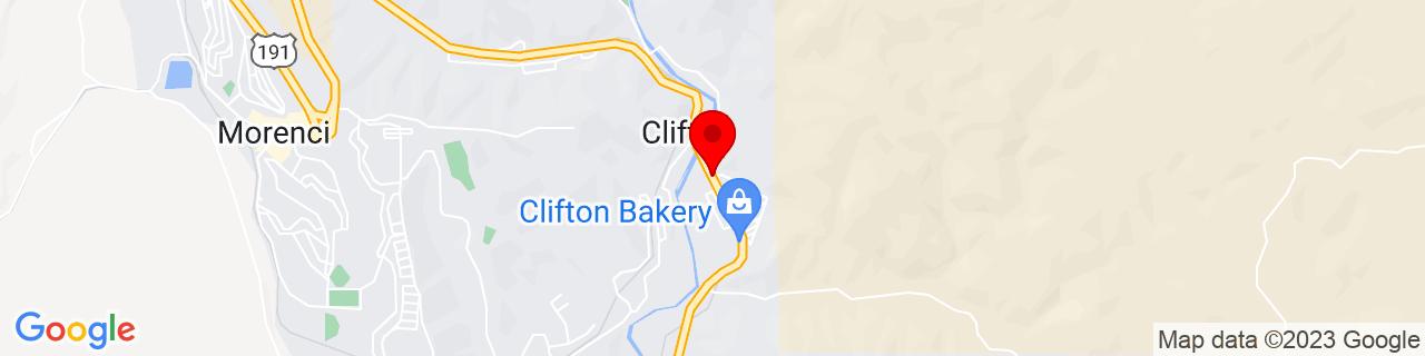 Google Map of 33.0480071, -109.2942425