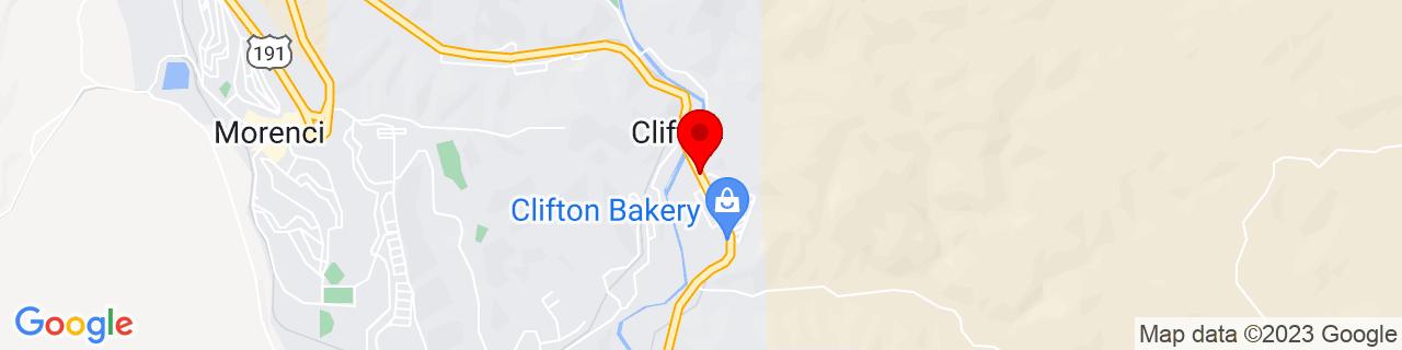 Google Map of 33.0480901, -109.2942908