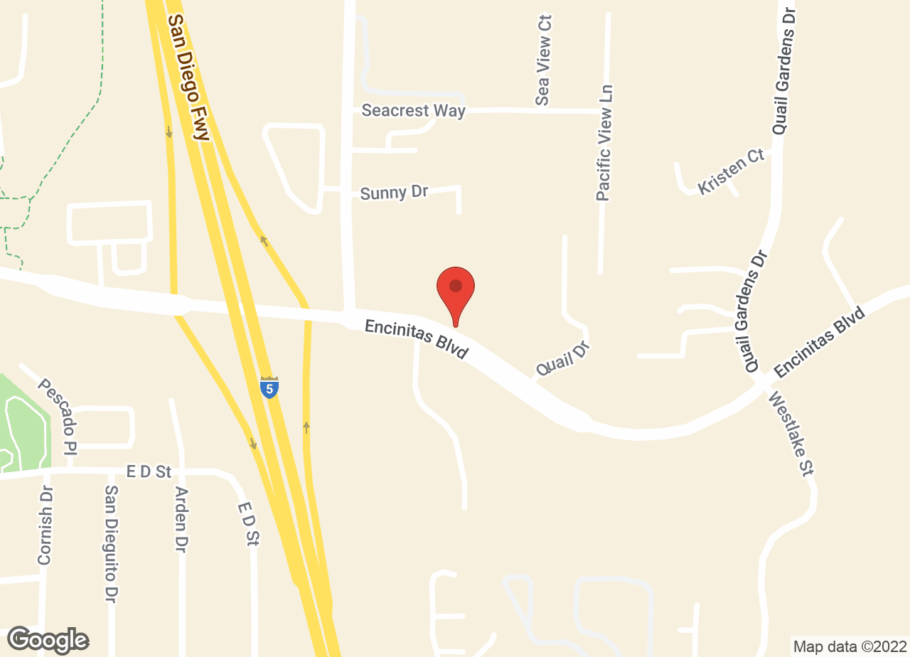 Google Map of VCA North Coast Animal Hospital