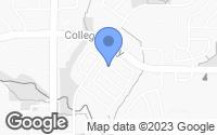 Map of Flower Mound, TX
