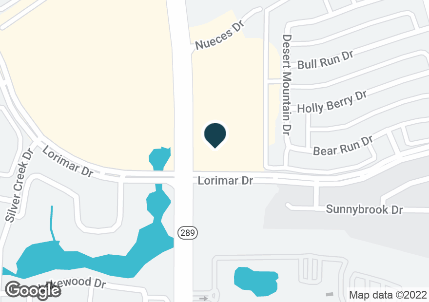 Google Map of4000 PRESTON RD
