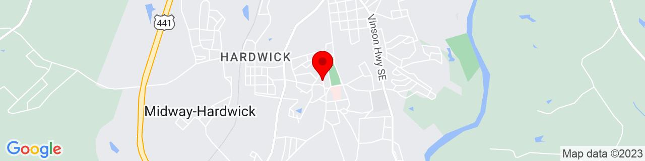 Google Map of 33.0523752, -83.2243621