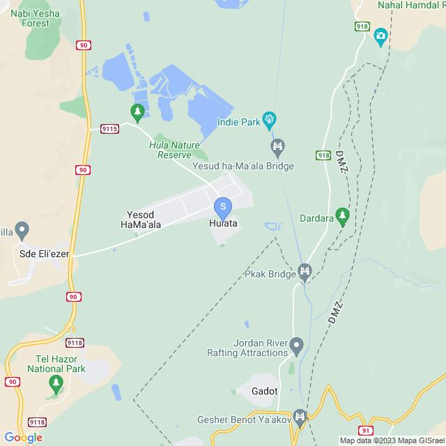 חולתה, ישראל