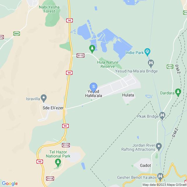 יסוד המעלה, ישראל