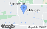 Map of Double Oak, TX