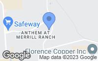 Map of Florence, AZ