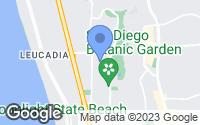 Map of Encinitas, CA