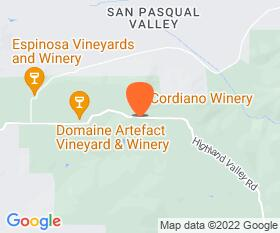 Cordiano Winery Location