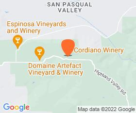 Cordiano Winery Location