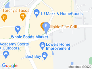 Map of Canine Courtyard Dog Boarding options in Flower Mound | Boarding