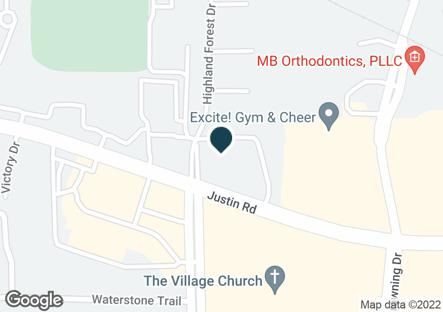Google Map of2360 JUSTIN RD