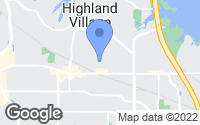 Map of Highland Village, TX