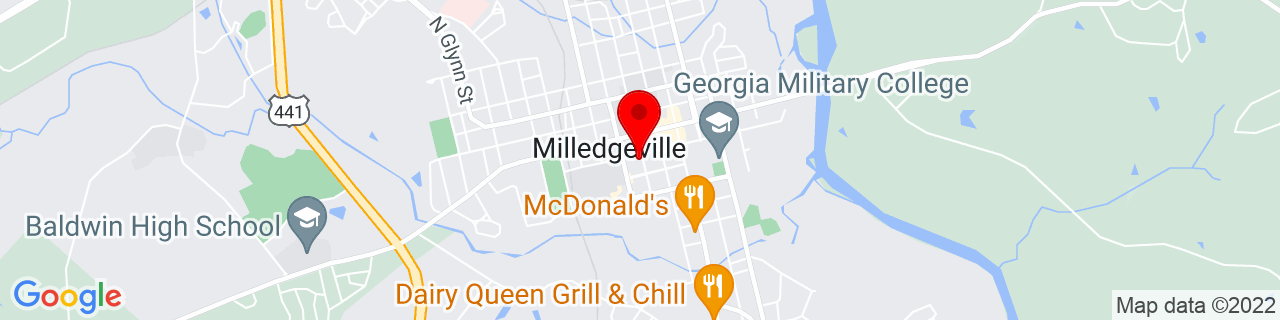 Google Map of 33.078719, -83.230238