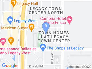 Map of Animal Addiction Concierge Dog Boarding options in Plano | Boarding