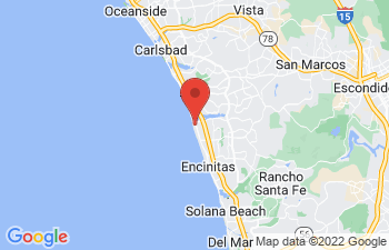 Map of Encinitas