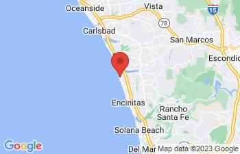 Map of Encinitas