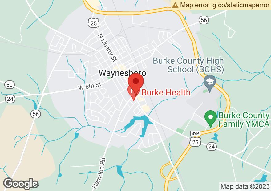 Google Map of 400 S LIBERTY ST