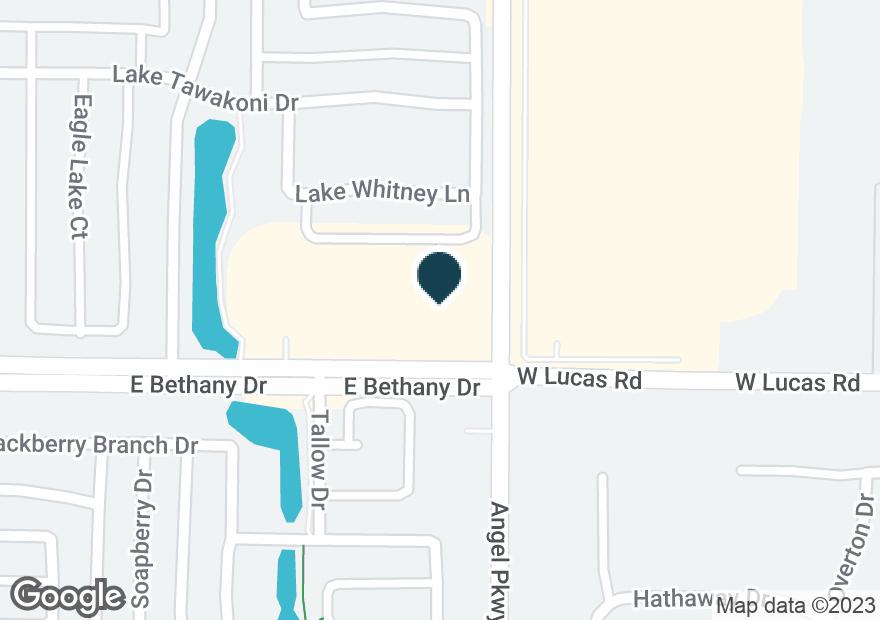 Google Map of1819 E BETHANY DR