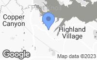 Map of Highland Village, TX
