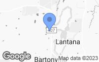Map of Argyle, TX