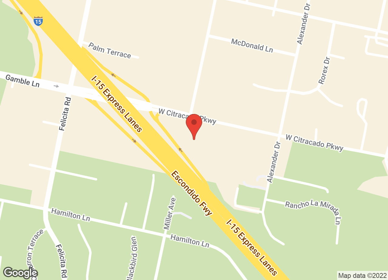 Google Map of VCA Acacia Animal Hospital and Pet Resort