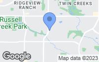 Map of Allen, TX
