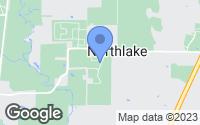 Map of Northlake, TX