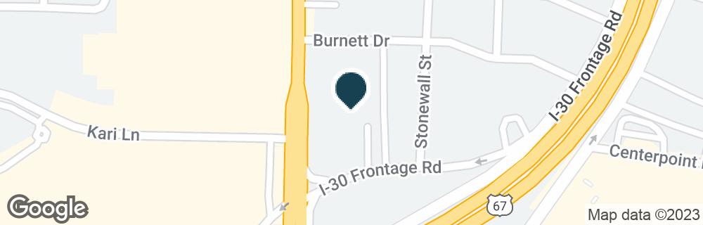 Google Map of6905 WESLEY ST